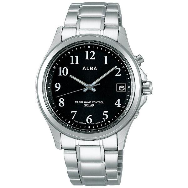 【7年保証】セイコーアルバ メンズ 男性用ソーラー電波腕時計【AEFY501】 (国内正規品)