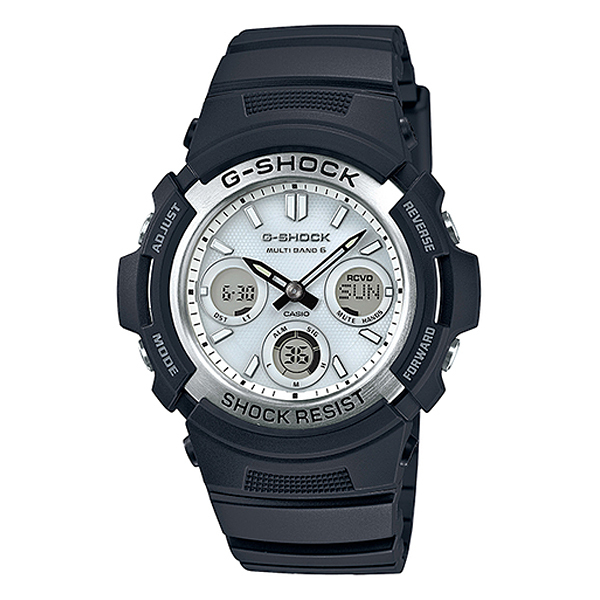 【7年保証】G-SHOCK メンズ 男性用 ソーラー電波腕時計 デジタル×アナログ AWG-M100S-7AJF 国内正規品