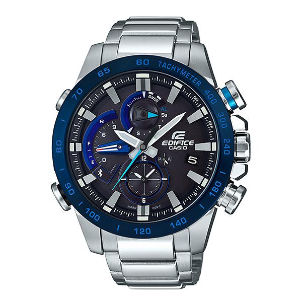 【7年保証】カシオ エディフィス モバイルリンク連携機能付 ソーラー メンズ 男性用腕時計 品番:EQB-800DB-1AJF