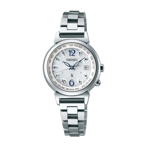 【7年保証】セイコー ルキア電波 ソーラー レディース 女性用  腕時計【SSVV001】 (国内正規品) ラッキーパスポート