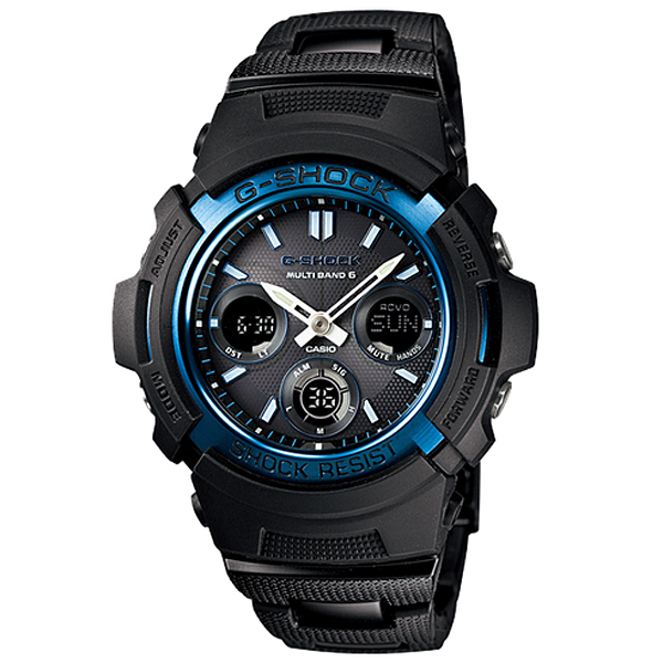 【7年保証】CASIO G-shockメンズ 男性用ソーラー電波腕時計【AWG-M100BC-2AJF】(国内正規品)