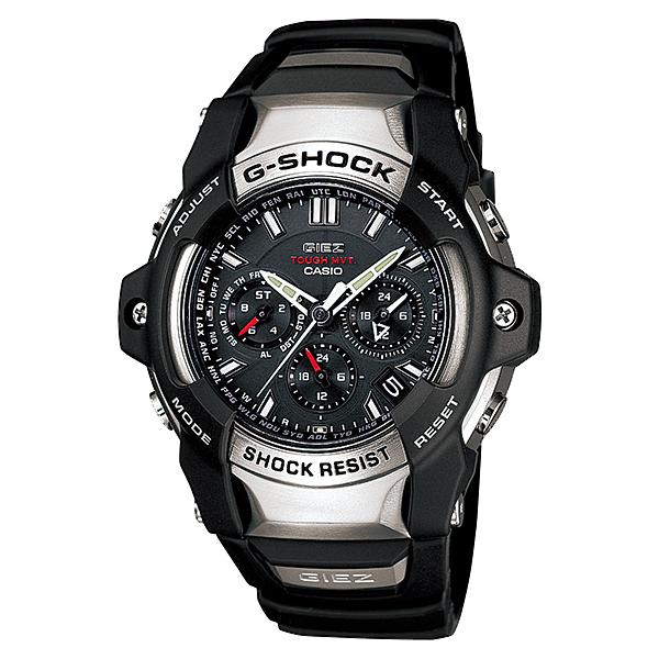 【7年保証】CASIO G-shockメンズ 男性用ソーラー電波腕時計GIEZ【GS-1400-1AJF】(国内正規品)