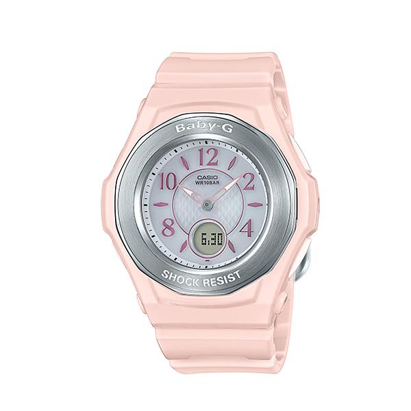 【7年保証】カシオ Baby-g レディース 女性用 腕時計電波ソーラー機能搭載【BGA-1050-4BJF】(国内正規品)