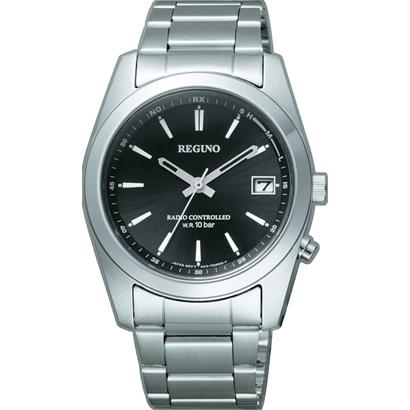 【7年保証】シチズンレグノ メンズ 男性用腕時計 ソーラーテック 電波時計10気圧防水【RS25-0483H】(国内正規品)