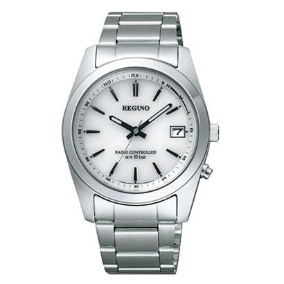 【7年保証】シチズンレグノ メンズ 男性用腕時計 ソーラーテック 電波時計10気圧防水【RS25-0484H】(国内正規品)