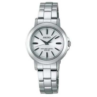 【7年保証】セイコー(SEIKO)スピリット レディースソーラー電波腕時計【SSDT047】(正規品)