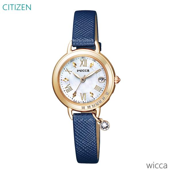 レディース 腕時計 7年保証 送料無料 シチズン ウィッカ ソーラー 電波 KL0-821-10 正規品 CITIZEN wicca