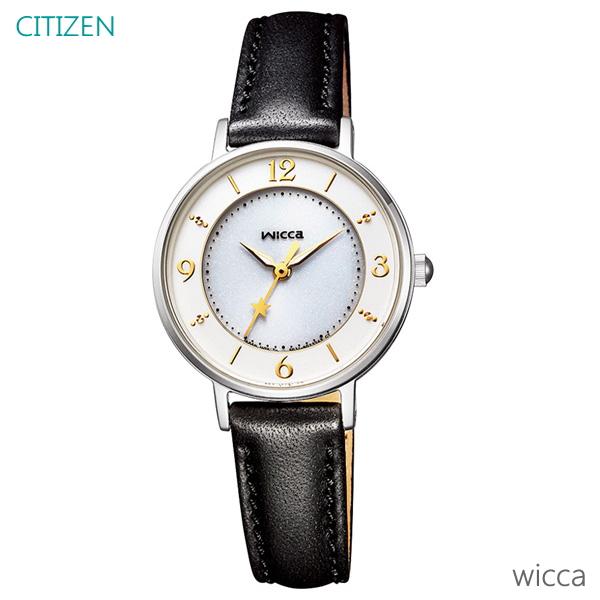 レディース 腕時計 7年保証 シチズン ウィッカ ソーラー KP3-465-10 正規品 CITIZEN wicca