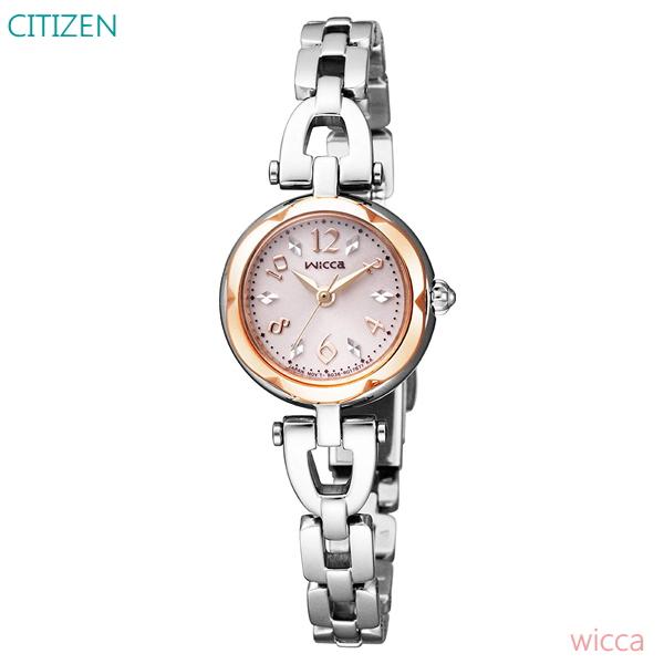 04b56fb15f85 ソーラー KF2-510-11 正規品 CITIZEN wicca レディース G-shock 腕時計 7年保証 シチズン ウィッカ クロノグラフ  数量限定