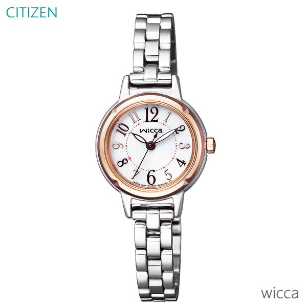 レディース 腕時計 7年保証 シチズン ウィッカ ソーラー KP3-619-11 正規品 CITIZEN wiica