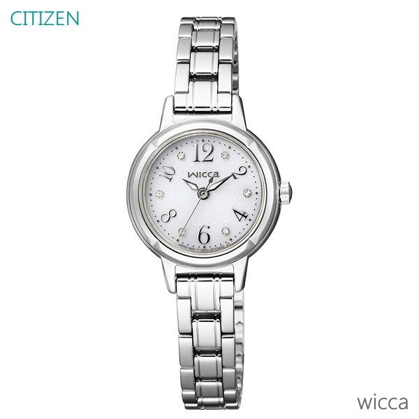 レディース 腕時計 7年保証 シチズン ウィッカ ソーラー KH9-914-15 正規品 CITIZEN wicca