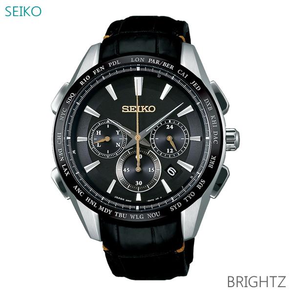メンズ 腕時計 7年保証 送料無料 セイコー ブライツ ソーラー 電波 SAGA221 正規品 SEIKO BRIGHTZ