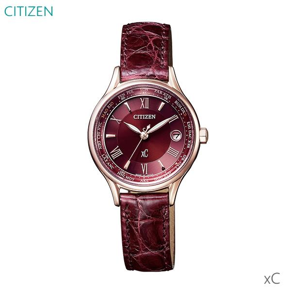 レディース 腕時計 7年保証 送料無料 シチズン クロスシー ソーラー 電波 EC1164-02W 正規品 CITIZEN xC
