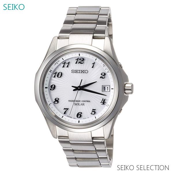 メンズ 腕時計 7年保証 送料無料 セイコー ソーラー 電波 SBTM237 正規品
