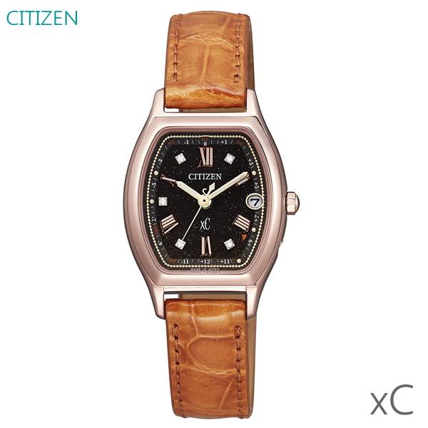 エコバッグ付き レディース腕時計 7年保証 シチズン クロスシー ソーラー電波 ES9352-13E 正規品 ハッピーフライト ティタニアライン 限定モデル