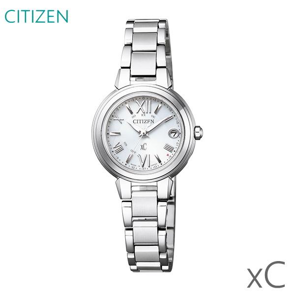レディース 腕時計 7年保証 送料無料 シチズン クロスシー ソーラー 電波 ES9430-54A 正規品 CITIZEN xC ハッピーフライト