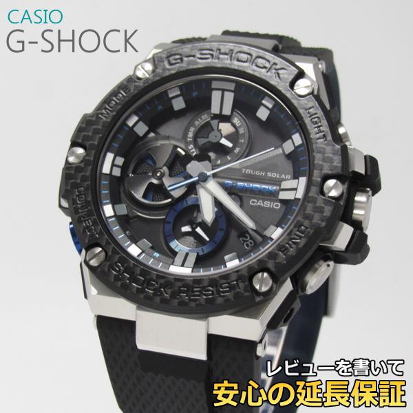 【7年保証】 カシオ G-SHOCK G-STEEL メンズ ソーラー腕時計 モバイルリンク 品番:GST-B100XA-1AJF