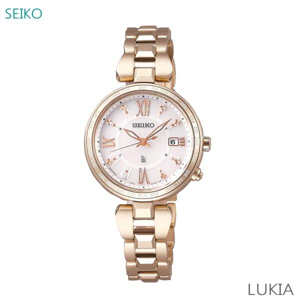 レディース 腕時計 7年保証 送料無料 セイコー ルキア ソーラー 電波 SSQV058 正規品 SEIKO LUKIA