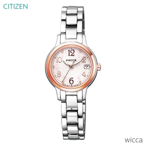 レディース 腕時計 7年保証 シチズン ウィッカ ソーラー KH4-939-91 正規品 CITIZEN wicca