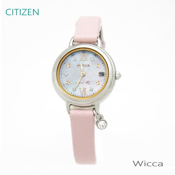 レディース 腕時計 7年保証 送料無料 シチズン ウィッカ×canal4℃ ソーラー 電波 KL0-561-92 正規品 CITIZEN wicca