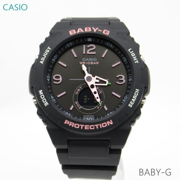 レディース 腕時計 7年保証 カシオ BABY-G BGA-260SC-1AJF 正規品 CASIO