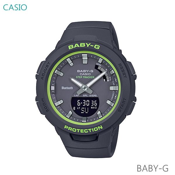 レディース 腕時計 7年保証 カシオ BABY-G G-SQUAD BSA-B100SC-1AJF 正規品 モバイルリンク機能