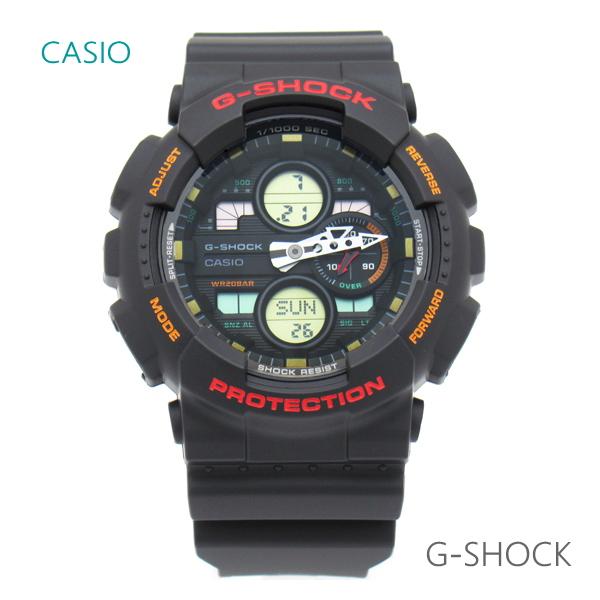 メンズ 腕時計 7年保証 カシオ G-SHOCK アナログ×デジタル GA-140-1A4JF 正規品 CASIO ビッグケース