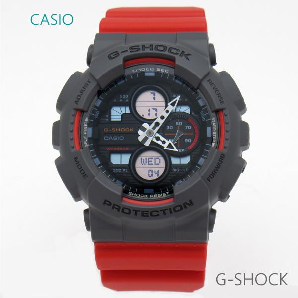 メンズ 腕時計 7年保証 カシオ G-SHOCK アナログ×デジタル GA-140-4AJF 正規品 CASIO ビッグケース
