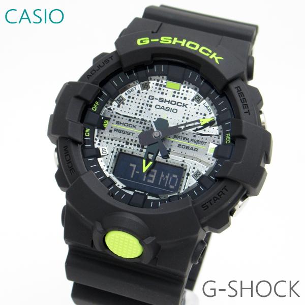 メンズ 腕時計 7年保証 カシオ G-SHOCK デジアナ GA-800DC-1AJF 正規品 CASIO Black and Yellow Series