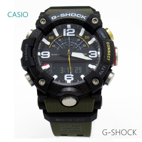 メンズ 腕時計 7年保証 カシオ G-SHOCK MUDMASTER GG-B100-1A3JF 正規品 マスターオブG マッドマスター カーボンコアガード