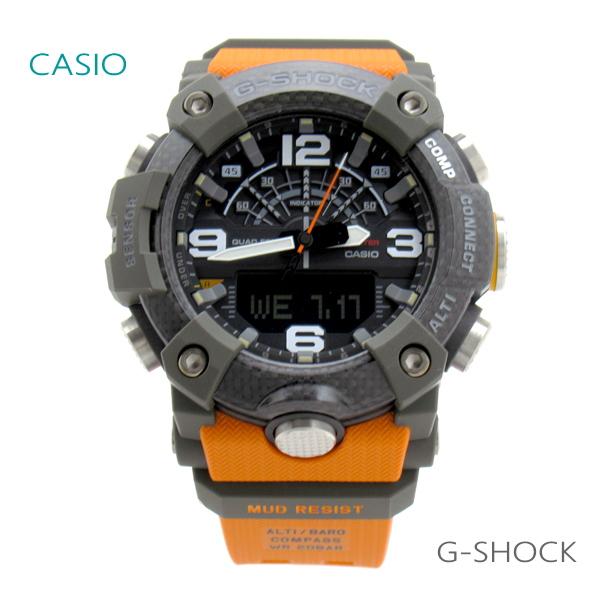 国内正規品 レビューを書いて7年保証 ラッピング無料 送料無料 メンズ 腕時計 超定番 7年保証 本物 カシオ 正規品 カーボンコアガード G-SHOCK マスターオブG GG-B100-1A9JF MUDMASTER マッドマスター