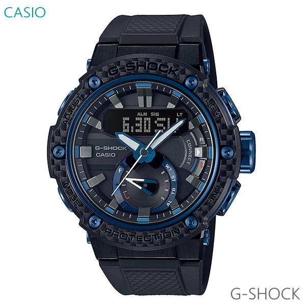 メンズ 腕時計 送料無料 カシオ G-SHOCK G-STEEL ソーラー GST-B200X-1A2JF 正規品 CASIO
