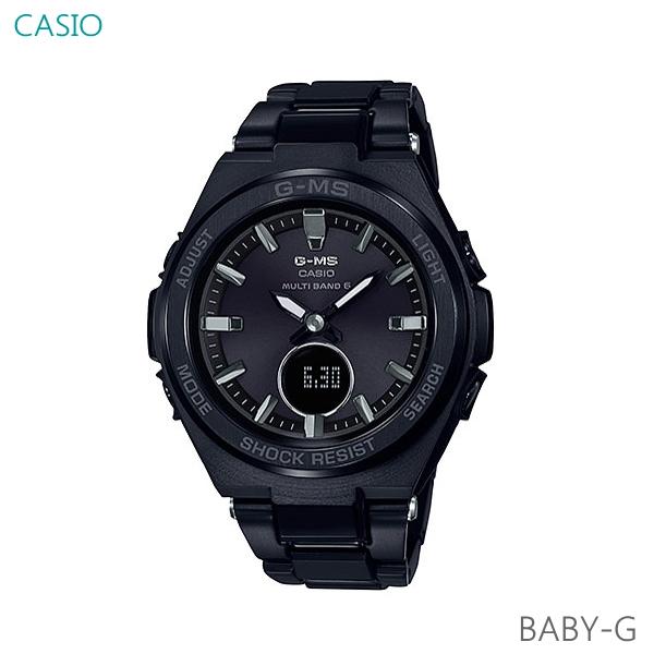 レディース 腕時計 7年保証 送料無料 カシオ BABY-G G-MS ソーラー 電波 MSG-W200CG-1AJF 正規品 ジーミズ