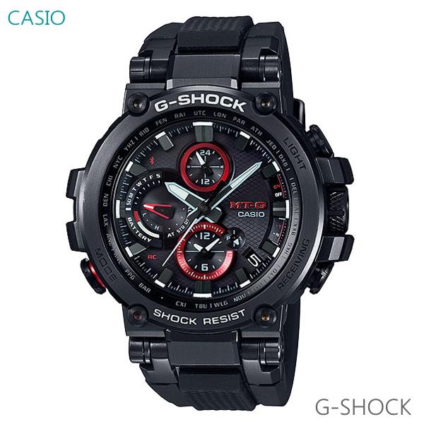 メンズ腕時計 7年保証 送料無料 G-SHOCK MT-G メンズ ソーラー電波 腕時計 MTG-B1000B-1AJF 正規品