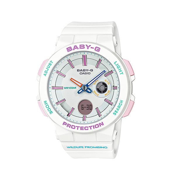 レディース 腕時計 7年保証 カシオ BABY-G BA-255WLP-7AJR 正規品 WILDLIFE PROMISINGコラボ