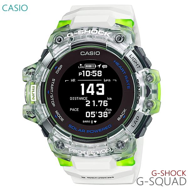 国内正規品 レビューを書いて7年保証 包装無料 メンズ 高価値 腕時計 7年保証 実物 送料無料 カシオ GPS電波 GBD-H1000-7A9JR 心拍計測 正規品 CASIO G-SHOCK G-SQUAD ソーラー