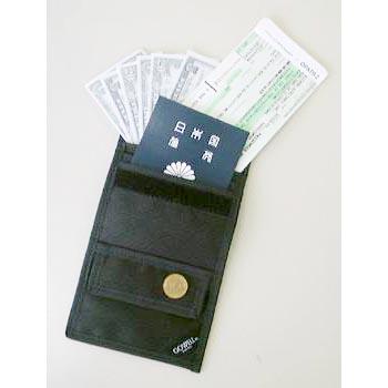 5つのポケットでパスポート 現金 カード トラベラーズチェックなどの貴重品の保管 ネコポス便送料無料 トラベルパス BK 日本全国 送料無料 gowell 今ダケ送料無料 ゴーウェル smtb-u 旅行用品 海外旅行便利グッズ 101 送料込み
