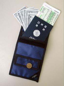 5つのポケットでパスポート 送料込 現金 カード SALE開催中 トラベラーズチェックなどの貴重品の保管 ネコポス便送料無料 トラベルパス ゴーウェル go-102 gowell 海外旅行便利グッズ NB 旅行用品