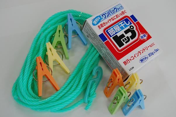 生乾きのいやな臭いを防ぐ 洗濯ロープセット660 gowell 至上 ゴーウェル 日本正規代理店品 海外旅行便利グッズ 旅行用品