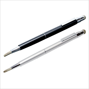 !超美品再入荷品質至上! タッチペンなのに筆のような操作感で 《週末限定タイムセール》 快適なスクロール操作を実現 表面摩擦の少ないなめらかな操作感をお楽しみいただけます ネコポス便送料無料 メーカー直販 ミヨシ MCO なめらか筆ヘッドタイプ - 送料込み STP-11 導電繊維ファイバーヘッドタッチペン smtb-u MOBIBLE