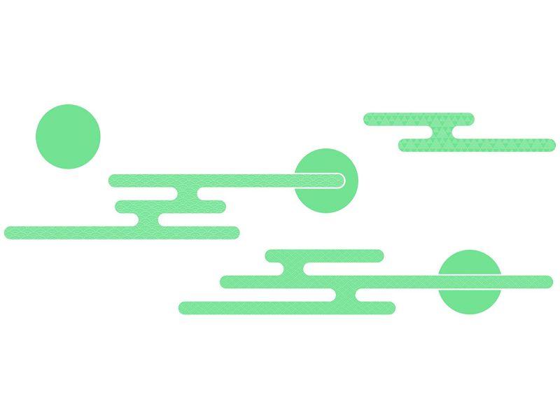 【送料無料】東京ステッカー/エ霞/Lサイズ/青磁色【10P03Dec16】【smtb-u】【送料込み】