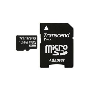 SDカード変換アダプタ付きのmicroSDHCカード ネコポス便送料無料 正規国内販売代理店 トランセンド Transcend microSDHCカード 卸売り 16GB 10P03Dec16 TS16GUSDHC10 Class10 限定価格セール