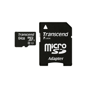 SDカード変換アダプタmicroSDHCカード ネコポス便送料無料 正規国内販売代理店 トランセンド Transcend microSDXCカード UHS-I対応 送料込み TS64GUSDU1 限定タイムセール 64GB smtb-u 激安卸販売新品 Class10