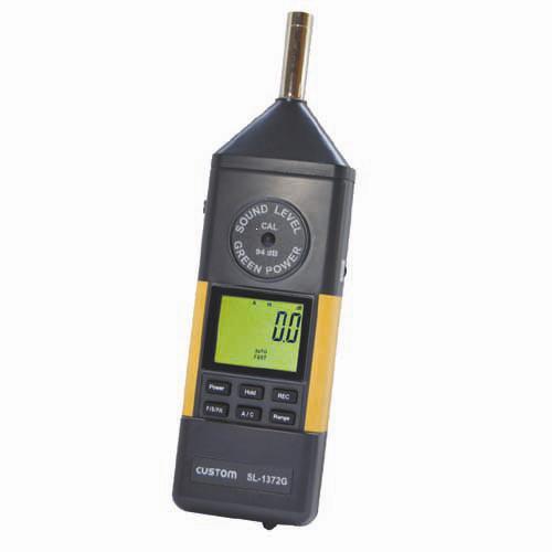 【送料無料】カスタム デジタル 騒音計 SL-1372G【10P03Dec16】【smtb-u】【送料込み】