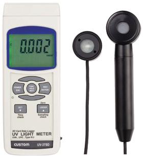 【送料無料】カスタム SDカードスロット搭載 紫外線強度計 UV-37SD【10P03Dec16】【smtb-u】【送料込み】