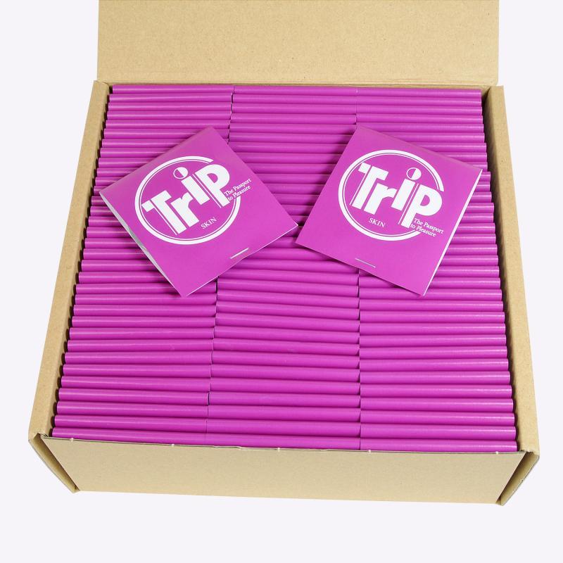 【トリップスキン 100個入り 】あす楽 コンドーム 業務用 スキン こんどーむ 避妊具 女性人気
