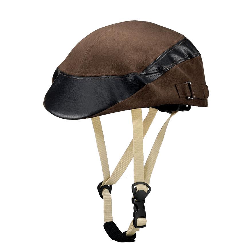 帽子のデザイン性とヘルメットの安全性がひとつになりましたスーパーセール お買い物マラソン ポイント消化 Capor 誕生日/お祝い カポル ヘルメット メイプル 自転車 市場 送料無料 ダークブラウン :