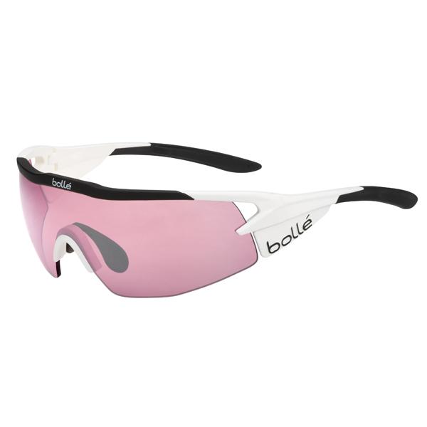 ボレー 12499 AEROMAX サングラス Shiny WH/BK Vermillion【送料無料】【自転車】【サイクリング】【ロードバイク】【bolle】