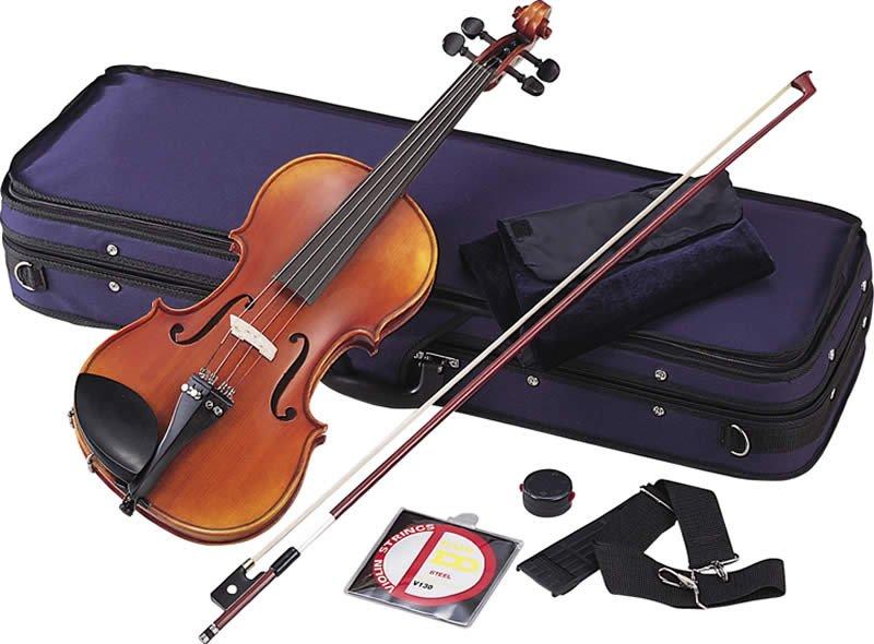 【バイオリン入門セット】Hallstatt V45弓・松脂・ピッチパイプ・他7点入門セット【限定特価】 【KK9N0D18P】
