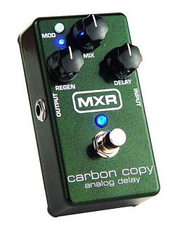 【正規輸入品・限定特価】【在庫有、即出荷】MXR 《アナログディレイ》M-169 Carbon Copy Analog Delay (M196) 【KK9N0D18P】